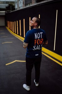 NOT FOR SALE - T-Shirt Unisex - Granatowy