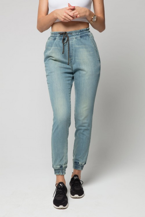 Jogger RM Jeans - Damskie - Paint Light Jeans