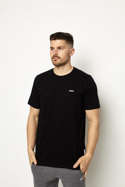 'Basic Black' - T-Shirt Unisex - Czarny